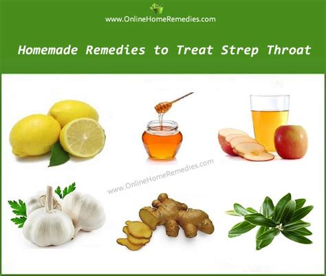 remedies to treat strep throat naturally at home