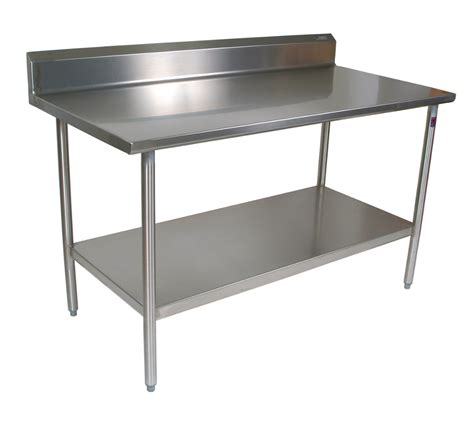 Catskill Craftsmen Kitchen Island by 14 Gauge Stainless Steel Foodservice Work Table