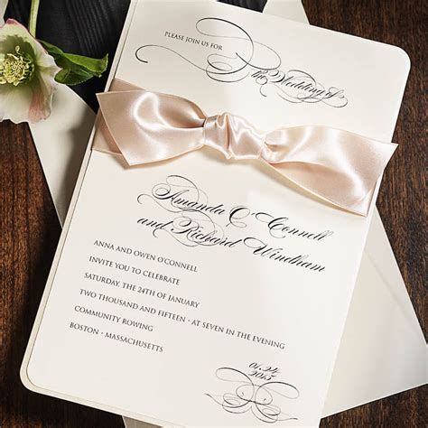 wedding announcements and reception invitations wedding invitation printing 171 printing by johnson mt