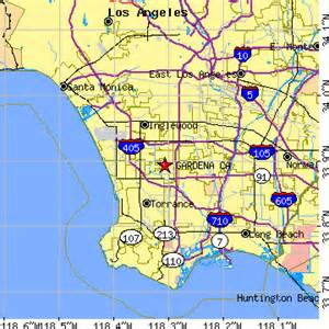 Gardena Ca Postal Code Gardena California Ca Population Data Races Housing