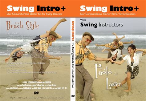 introduction to swinging swing intro instructional dvd