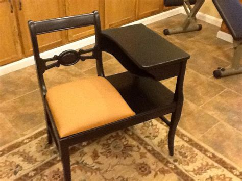 antique gossip bench phone table vintage gossip bench telephone table
