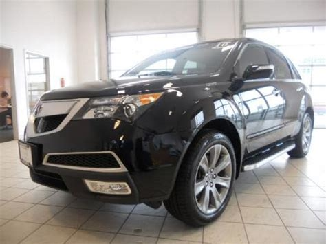 airport acura cleveland used 2010 acura mdx advance for sale stock i005448a