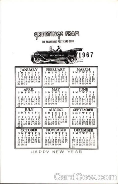 new year animal for 1967 calendar 1967 happy new year calendars