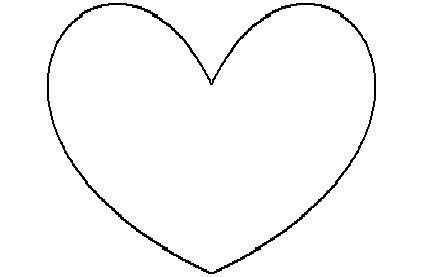 imagenes de corazones sin color mi colecci 243 n de dibujos corazones para colorear