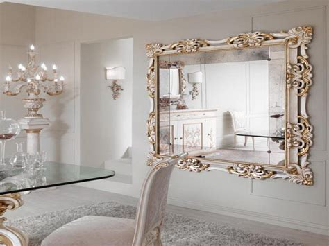 decorative living room wall mirrors mirror ideas