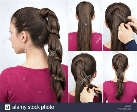 easy and beautiful party hairstyles braided hairstyle for party tutorial step by step