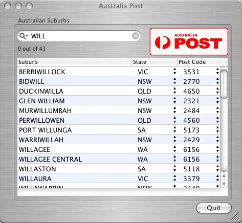 Address And Postcode Finder Australia Image Gallery Australia Postcode