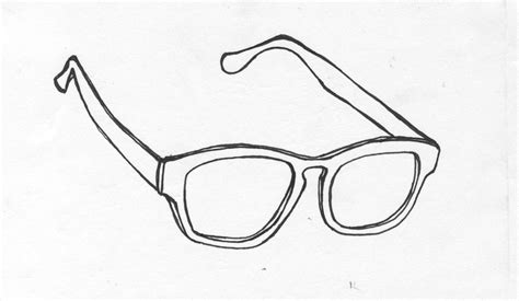 Glasses Template by Free Sunglasses Template Coloring Pages