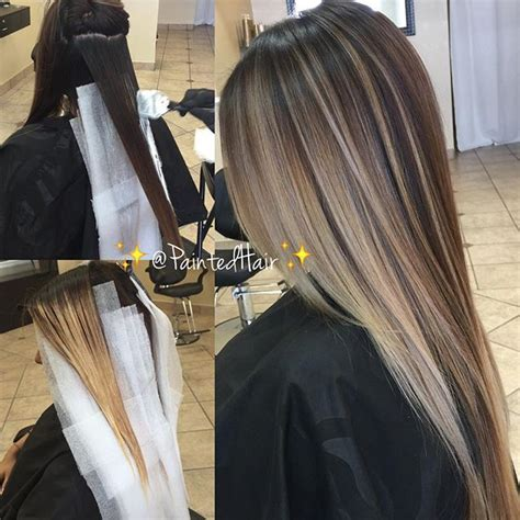 is streaking still popular on hair 25 best ideas about brown blonde balayage on pinterest
