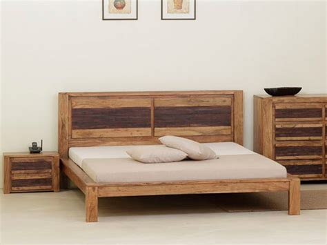 lit avec sommier oasis 160 x 200 cm acacia massif