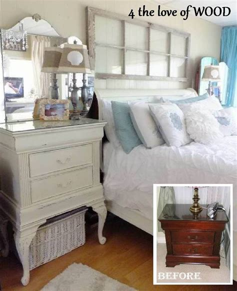 white side tables for bedroom bedroom makeover before 4 the love of wood man made candles and lady like furniture