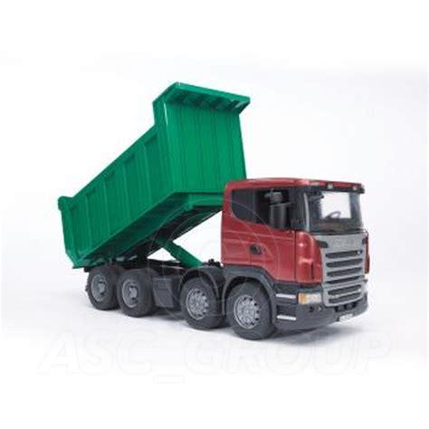 bruder toys bruder toys 03550 pro series scania r series tipper truck