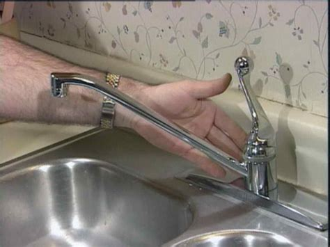 how to repairs how to repair leaking kitchen faucet