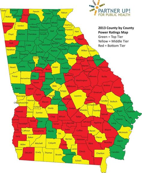 county ga county map map of counties united