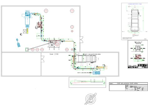 3d Floorplan Software sample layouts for filling amp bottling machines