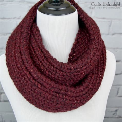 how to knit an infinity scarf how to knit an infinity scarf crafts unleashed