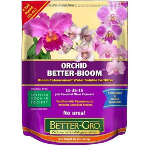 better gro 16 oz orchid better bloom booster plant food