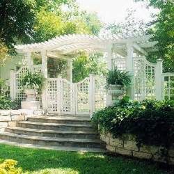 Trellis Design Plans by Trellis Design Ideas Trellises With Fences Or Screens