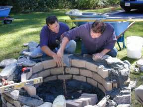 how to build a pit with rocks how to build a pit how tos diy
