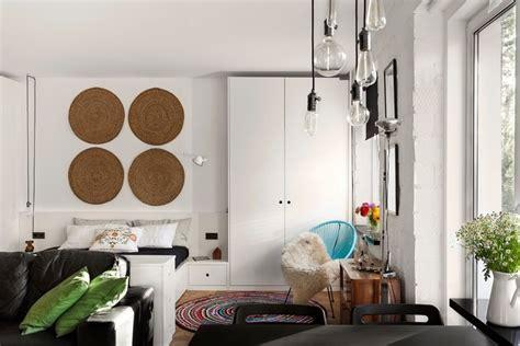 schlafzimmer und wohnzimmer kombinieren kleine wohnungen einrichten beispiele und praktische