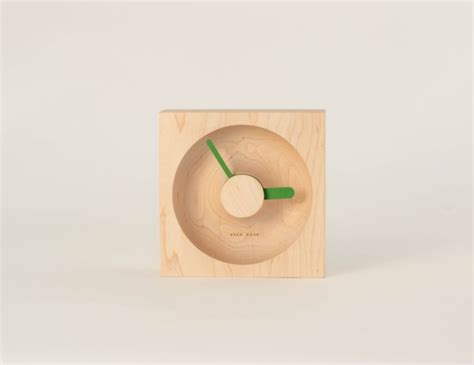 milk design s r o o clock by okum made design milk