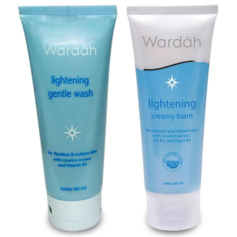 Harga Clean And Clear Wash wardah lightening series foam gentle wash 60ml