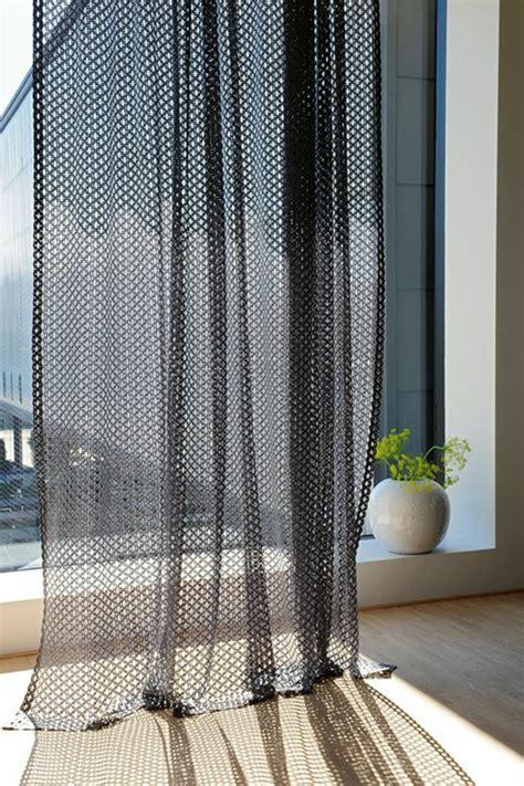 transparente gardinen mit muster 1001 ideen und beispiele f 252 r moderne vorh 228 nge und