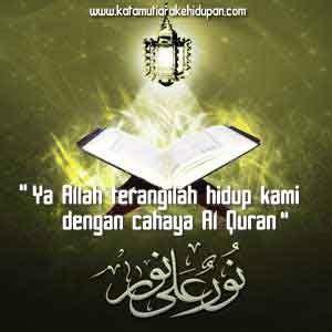 kata mutiara islam cahaya al quran kata mutiara islam