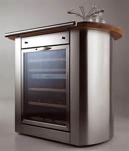 Home Bar Refrigerator Cool Bar Furniture Kefren Mobile Wine Bar And Refrigerator