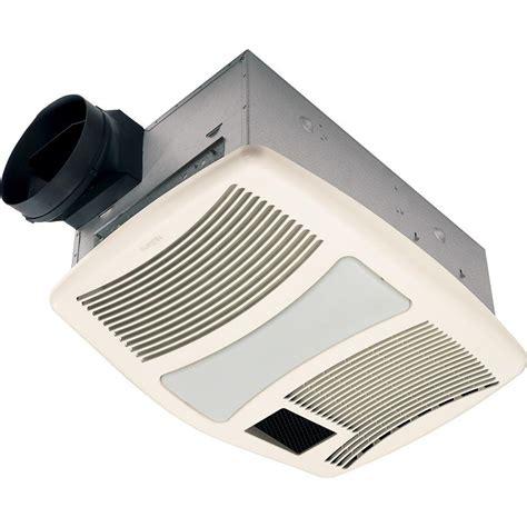 nutone qtxn series  quiet  cfm ceiling exhaust fan  heater light nightlight