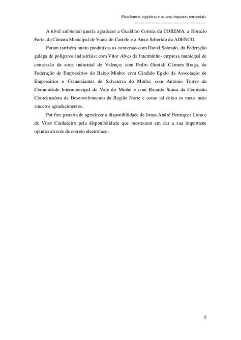 Prada Valena plataformas log 237 sticas e seus impactes territoriais o caso da plata