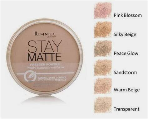 Rimmel Stay Matte Shade Transparan rimmel stay matte pressed powder lovemy makeup