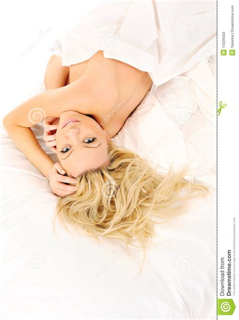 girls laying in bed girl laying in bed stock photos image 14226553