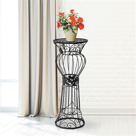 indoor plant displays flower pots garden trends 30 quot flower plant stand metal pot holder rack display decor