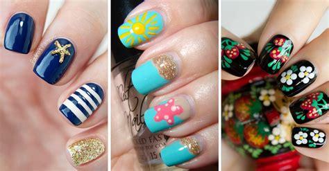 imagenes de uñas decoradas para verano 100 u 209 as de verano u 209 as decoradas nail art