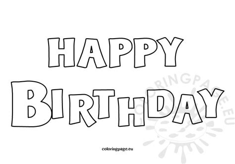 happy birthday pop coloring page happy birthday coloring card coloring page