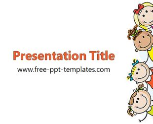 kids ppt template free powerpoint templates misc