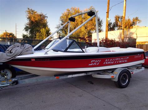 ski boat towers for sale 1991 ski nautique boat w wakeboard tower for sale in