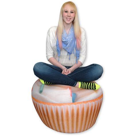hello bean bag chair walmart wow works cupcake bean bag chair walmart