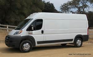 Dodge Promaster Review 2014 Ram Promaster Commercial Cargo Review And Road