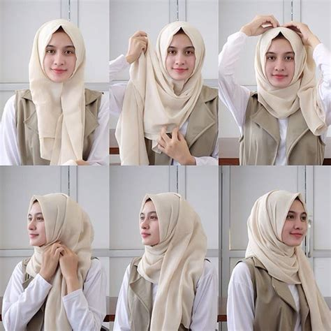 yaps minimalist style daily hijab tutorial