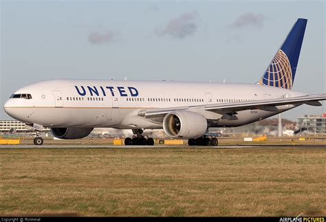 united airlines military com n223ua united airlines boeing 777 200er at london