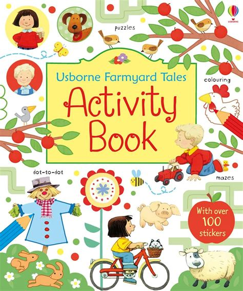 picture book activities farmyard tales activity book at usborne children s books