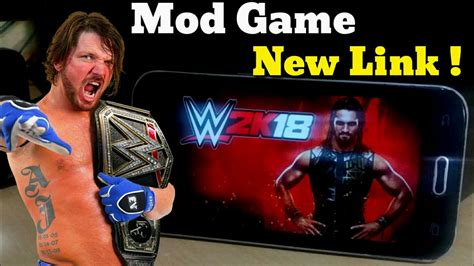how to mod android game with pc new link how to download wwe 2k18 game wr3d mod for