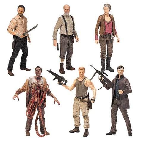 seal team 6 bobblehead walking dead tv series 6 figure set