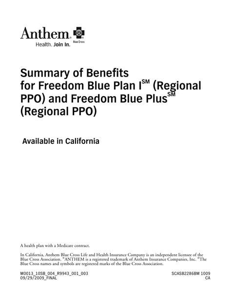 California Anthem Blue Cross Freedom Blue PPO Plans Aetna Dental Login