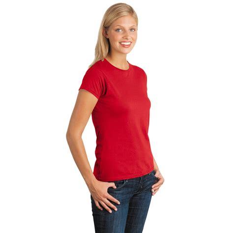 Kaos Junior Tshirt Gildan Softstyle 2 gildan 64000l softstyle junior fit t shirt
