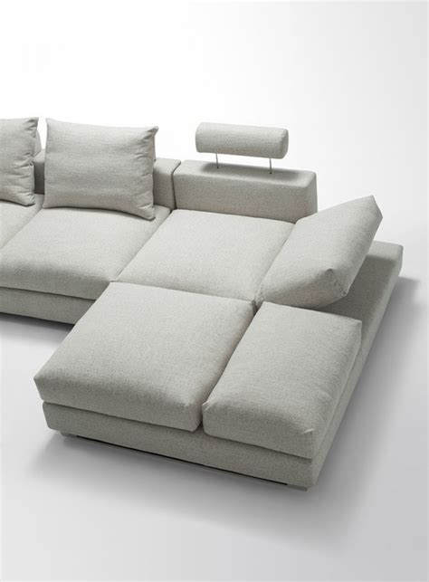 down feather sectional sofa divani casa vasto modern fabric sectional sofa with down