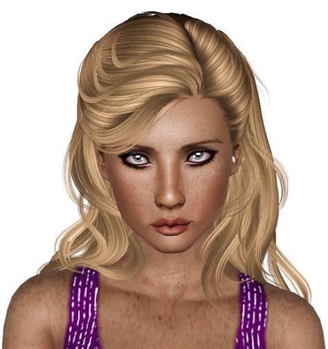 for my sims sunset caramel kawaii mini dress newsea s sunset glow hairstyle retextured by plumb bombs